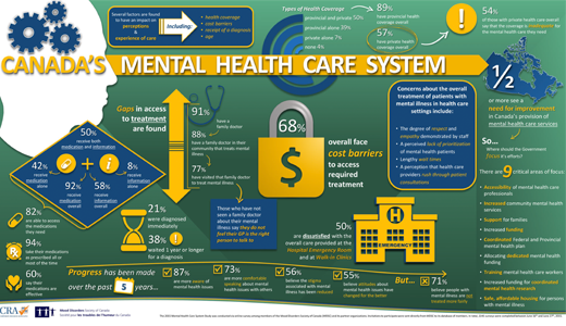 2015 Mental Health Care System Infographic
